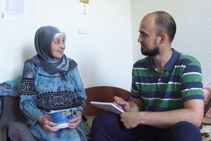 Яркая история мусульманки-пенсионерки