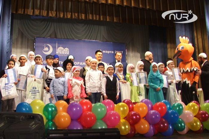 Областной конкурс Корана посвятили юбилею мечети
