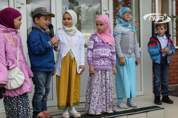 В мечети Ульяновска устроили праздник для детей