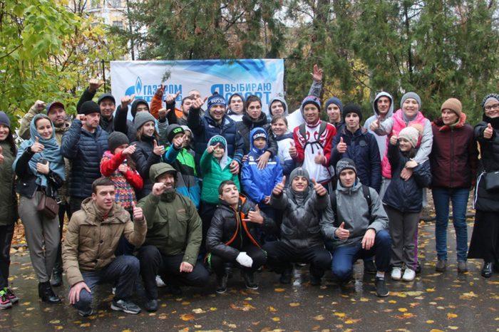 Саратовцы поддержали спортивный флешмоб