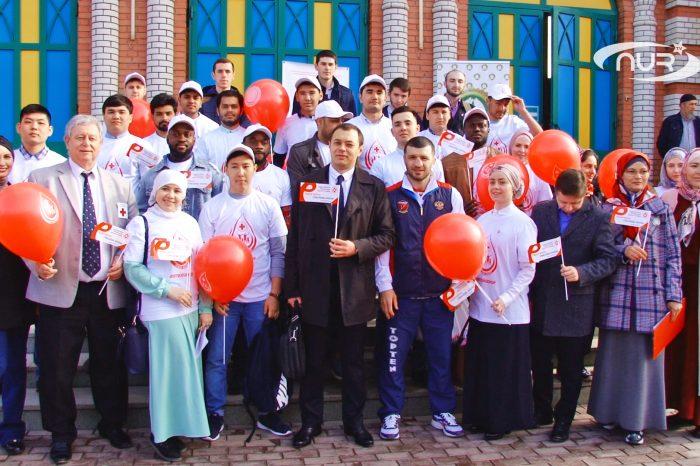Доноры сдали кровь и посетили мечеть