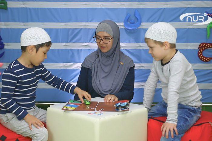 Азбука Корана: буква ن