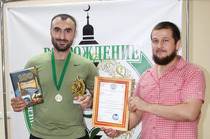 Прихожанин мечети стал чемпионом