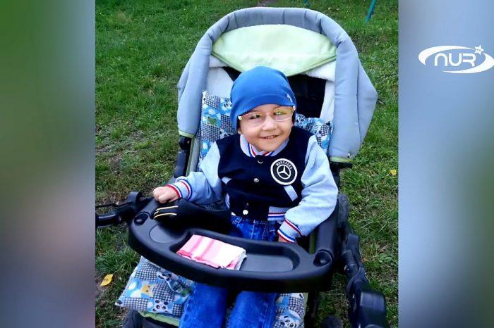 Ребёнку с ДЦП помогут встать на ноги