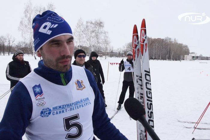 Лыжный марафон среди мусульман