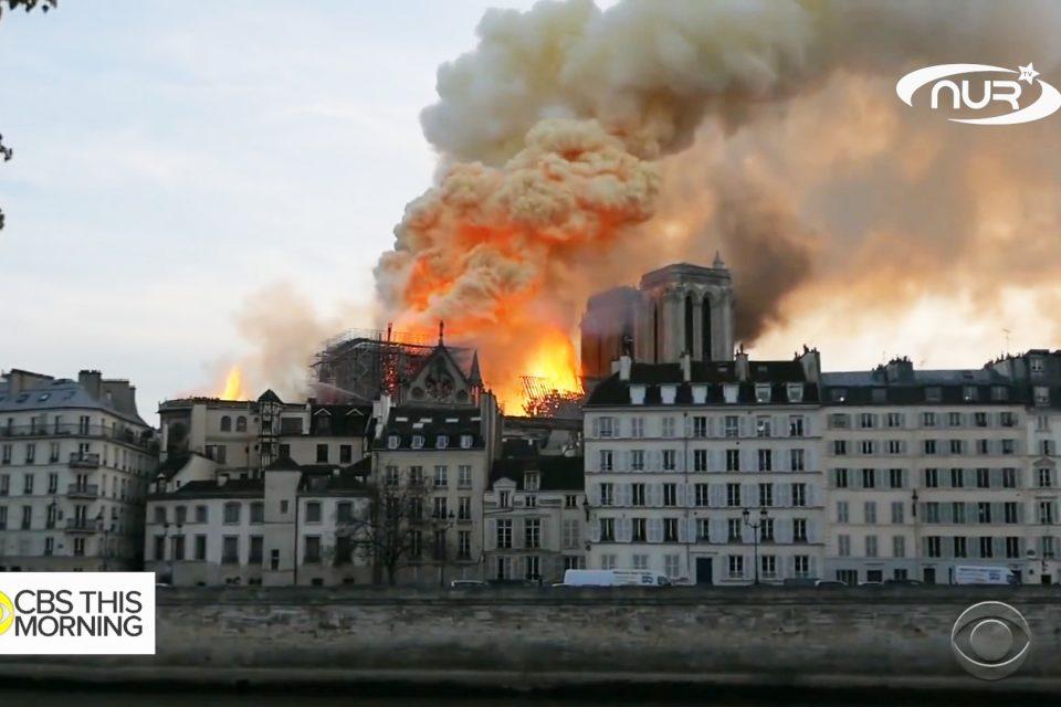 Реакция мусульман на пожар в Нотр-Даме