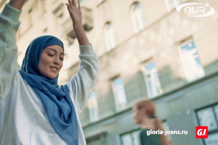 Российский бренд рекламирует хиджаб