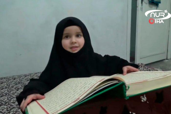 4-летняя девочка выучила Коран