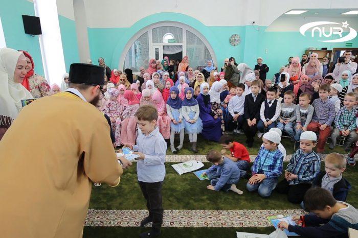 В Ульяновской мечети устроили конкурс для детей