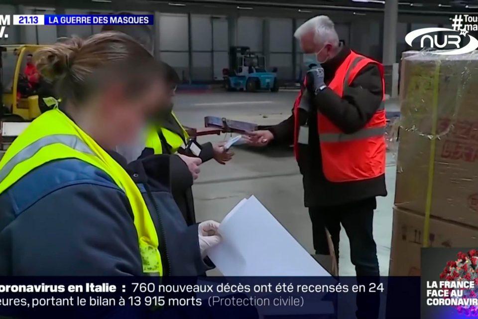 Америка лишила масок французских стариков
