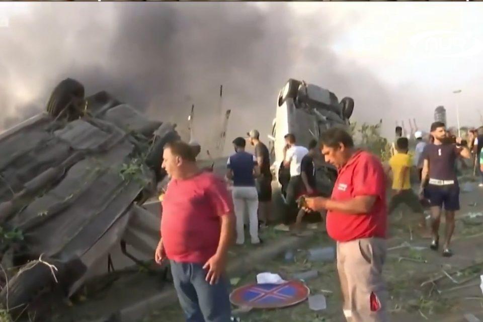 Взрыв в Бейруте сравнили с землетрясением!
