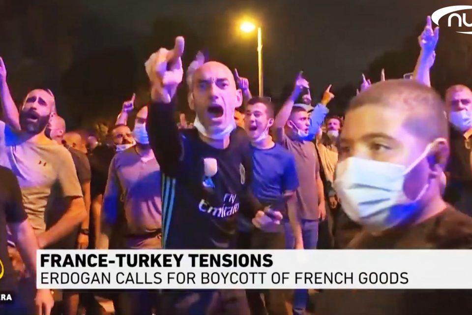 Мусульмане объявили бойкот Франции!