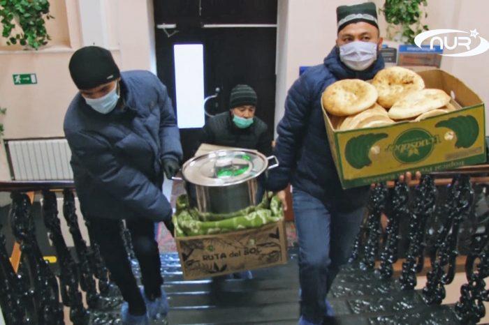 Узбеки позаботились о детях в интернате