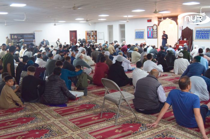 Мужчину спасли в мечети!