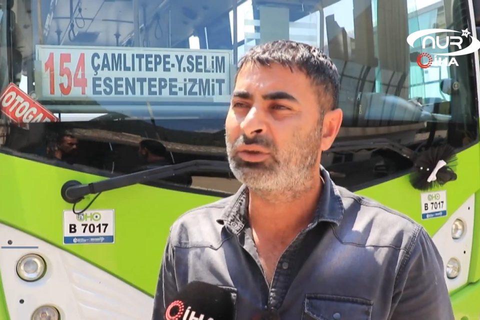 Этот водитель автобуса – настоящий мусульманин!