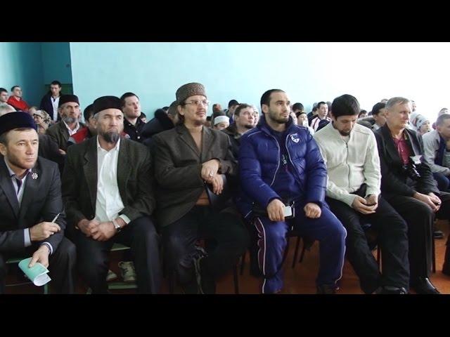 Памятноe мероприятие посетили муфтий и чемпион мира по боксу
